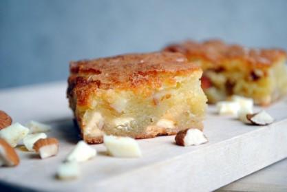 Hvide Brownies / Blondies