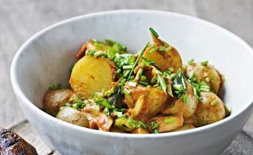 Stærk kartoffelsalat