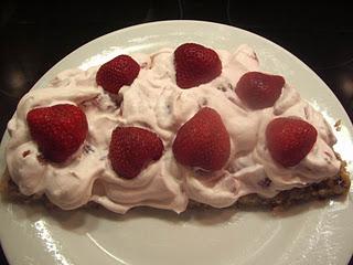 Nøddebrud med jordbær