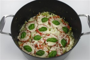 Spidskål al'a Pizza