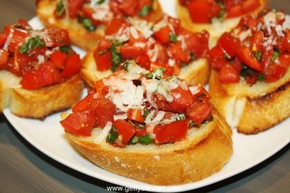 Bruschetta m. Tomat